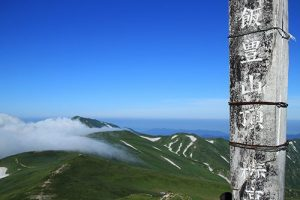 飯豊山の登山