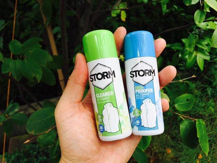 アウトドアウェア洗剤、STORM(ストーム)