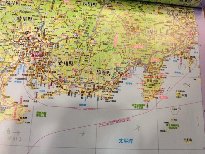 ヨットレースパールレース地図