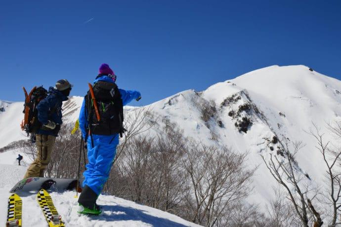 谷川岳 バックカントリー