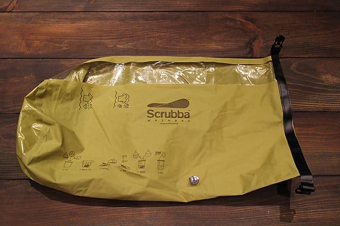 Scrubba(スクラバ) Scrubba wash bag スクラバウォッシュバッグ