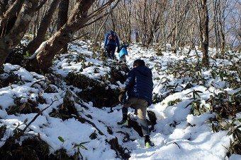 赤城山地蔵岳の登山