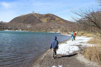 赤城山小沼のハイキング