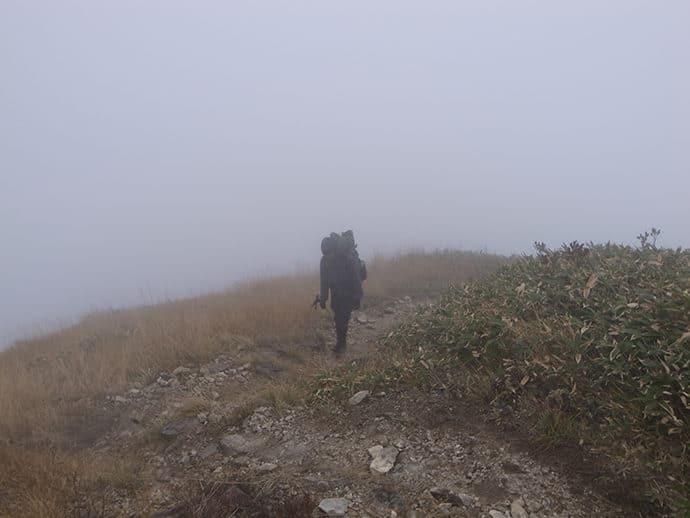 登山中の苦い思い出