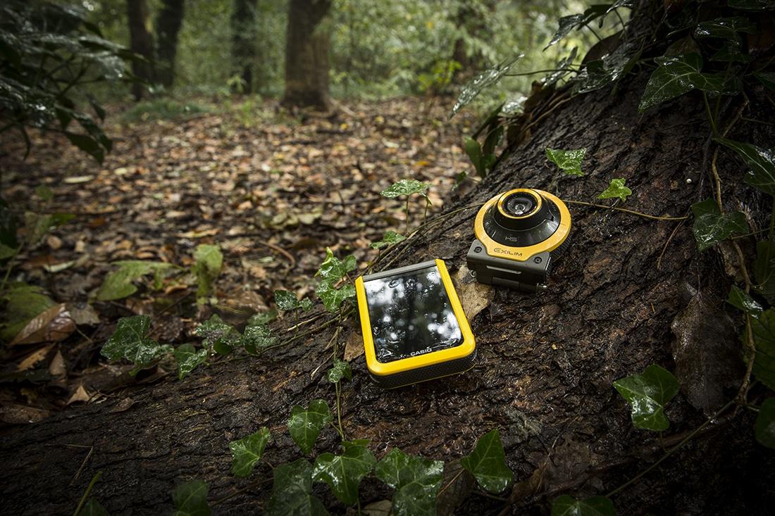 躍動感あるシーンを高画質で撮れる「Outdoor Recorder」エクシリム
