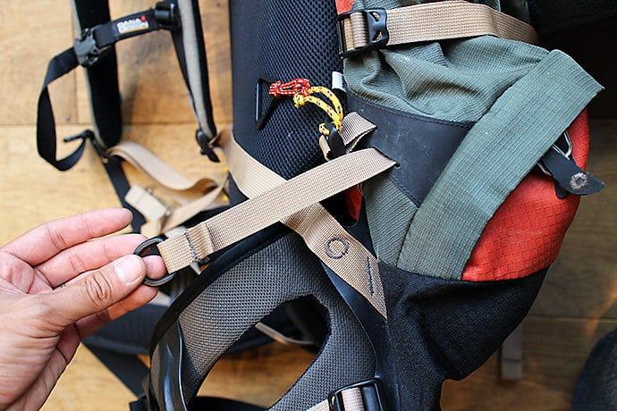 デイナデザインのバックパック