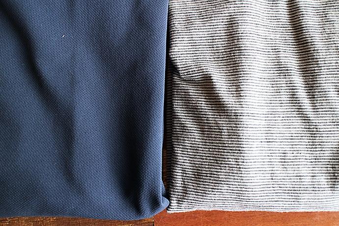 メリノウールウェアと化繊ウェア