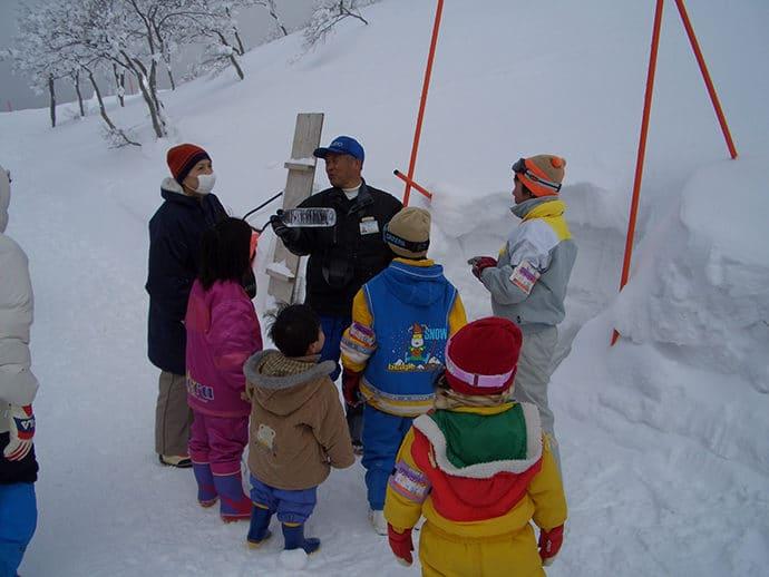 阿仁の樹氷教室