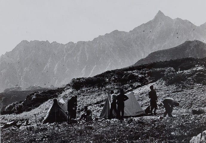 マナスル世界初登頂