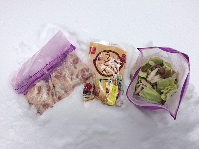 地元のスーパーや直売所で買った長野県産の野菜やお肉