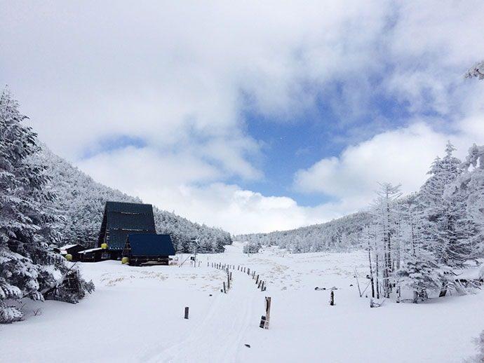 北八ヶ岳雨池スノーシュー