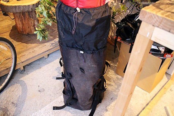パイネ(paine)のバックパック「ガッシャブルム80」