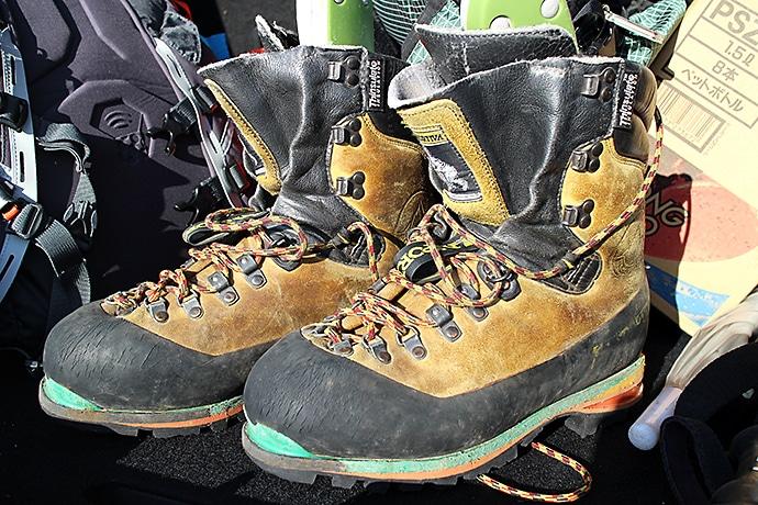 頑丈で安心の登山靴