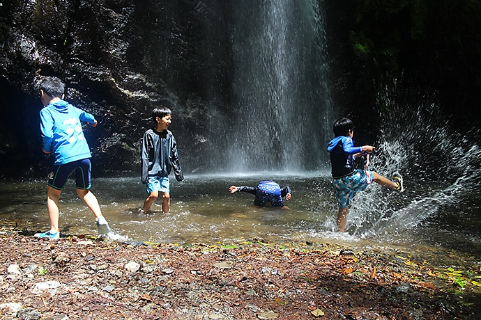 百尋の滝 子供とハイキング