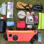 自転車キャンプのサイクルバッグ