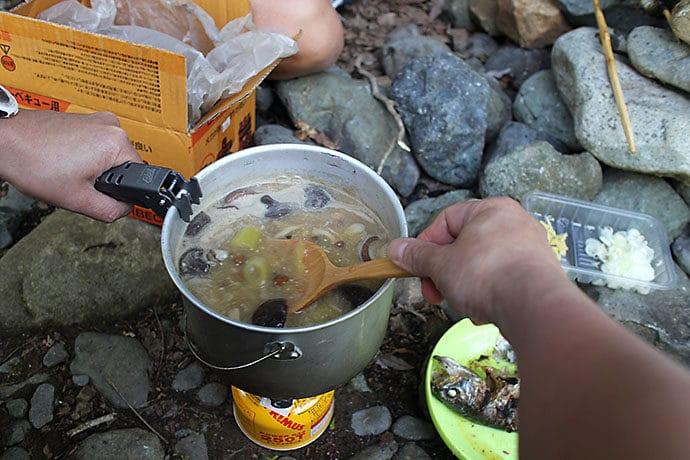 ごはんも美味しく炊き上がり味噌汁