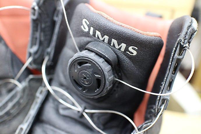 シムスのウエーディングブーツ