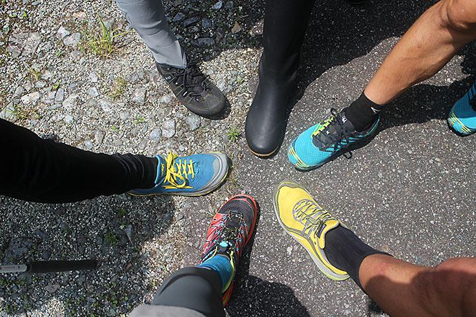 様々な登山靴