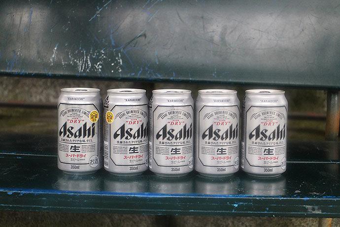 マウンテンカラ部ビールで乾杯