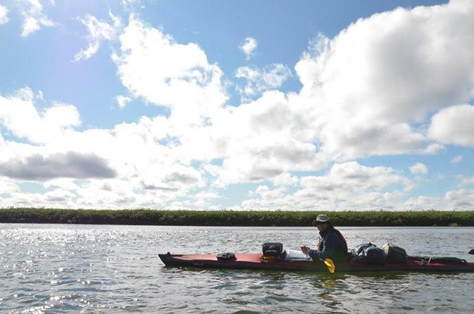 アラスカのカヤック旅