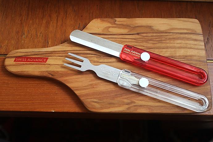 スイスアドバンスのフォークとナイフのセット『HIPPUS』