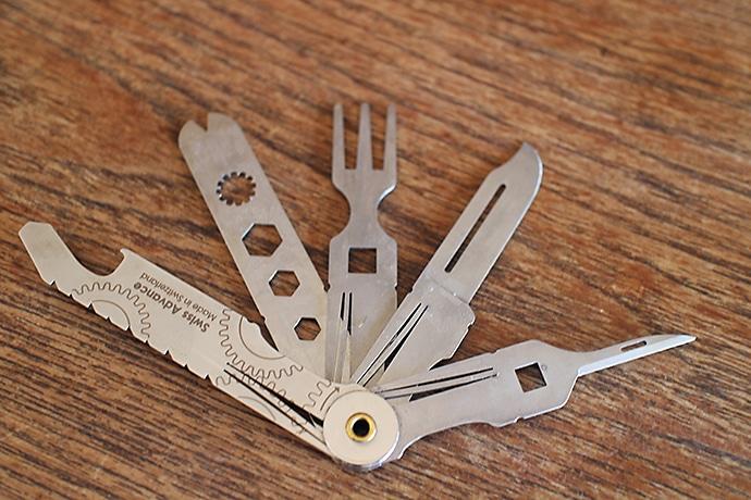 スイスアドバンスのポケットナイフ『CRONO』