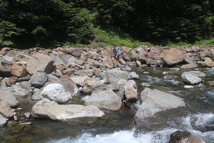 野呂川でテンカラ&フライフィッシング