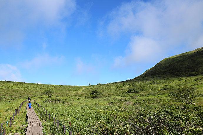 霧ヶ峰でトレラン
