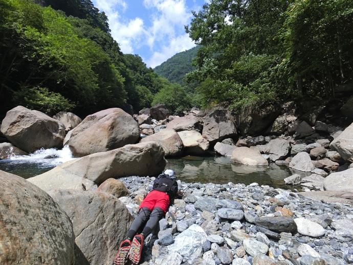 登山も釣りも楽しむ