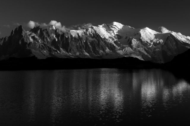 大野 崇 写真展:Massif du Mont-Blanc II Monochrome ~モン・ブラン山群II モノクロームの世界~