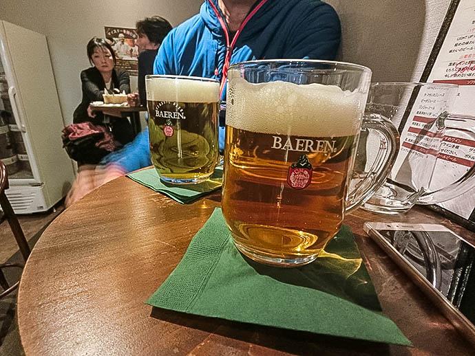 ベアレンのビール