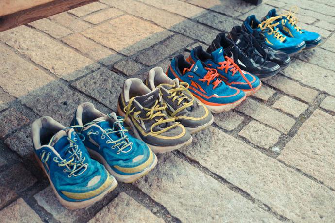 登山靴に変わるトレランシューズ