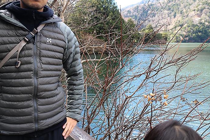 日光の湯ノ湖のハイキングコース