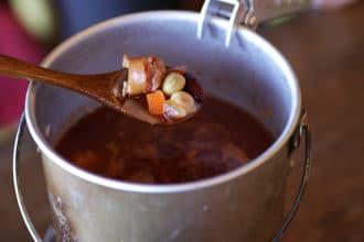 山ごはん『スパイシートマトスープ』