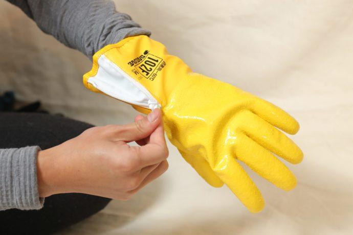 防寒用手袋ダイローブ102F