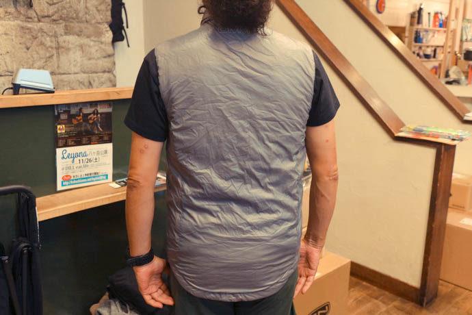 化繊ベストOMM Roter Vest