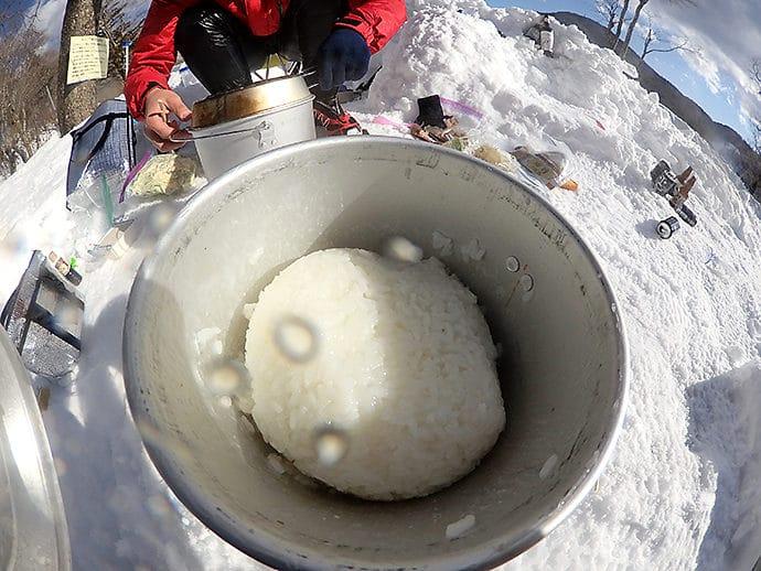 赤城山キャンプ場で楽しむもつ鍋