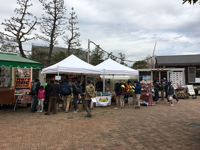 Outdoor Gear Touch&Try 2017 in 城南島海浜公園キャンプ場