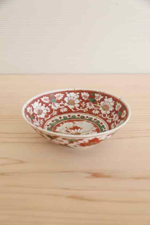 宣徳赤繒鉢
