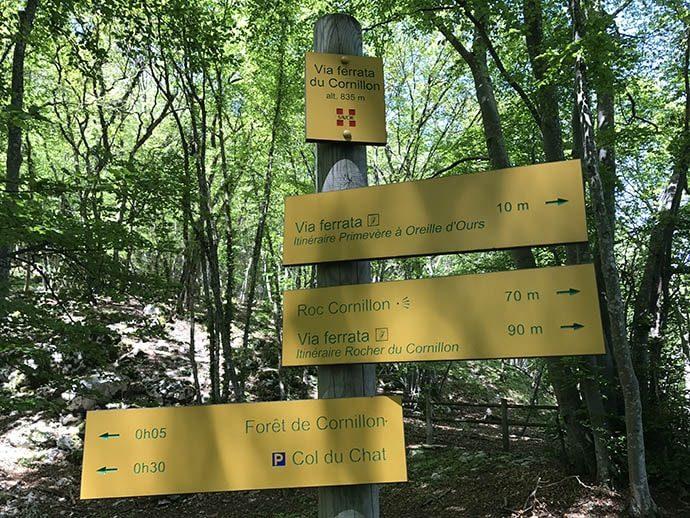 フランスで空中散歩Via ferrata(ヴィア・フェラータ)に挑戦