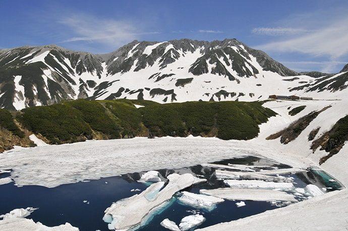 北アルプス 立山黒部アルペンルート