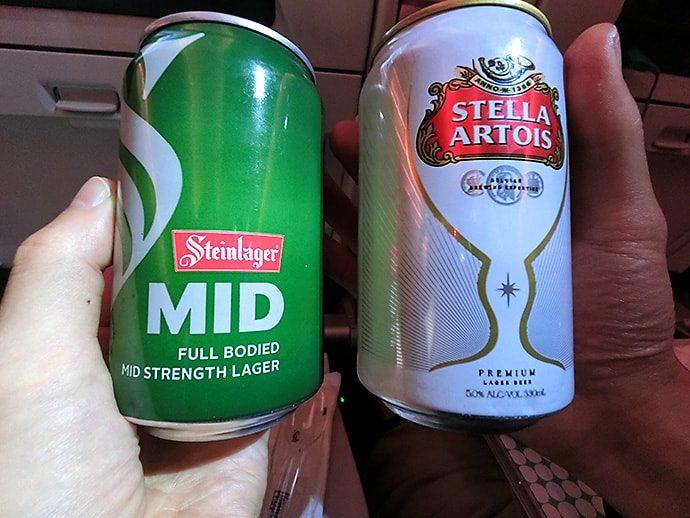 ニュージーランド産のビール