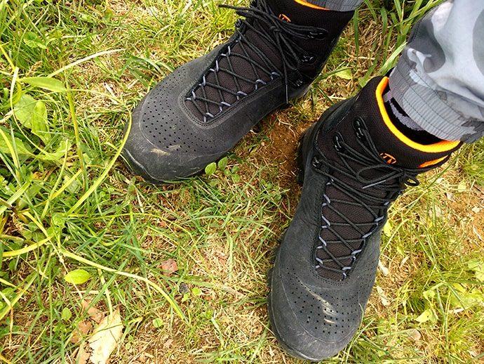 パーソナライズされた登山靴
