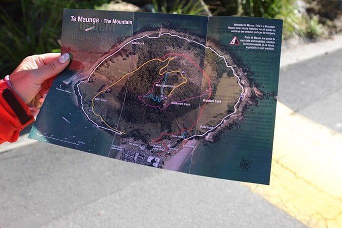 タウランガ「ザ・マウント」のコース
