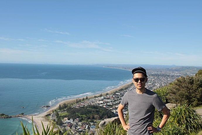 タウランガ「ザ・マウント」頂上