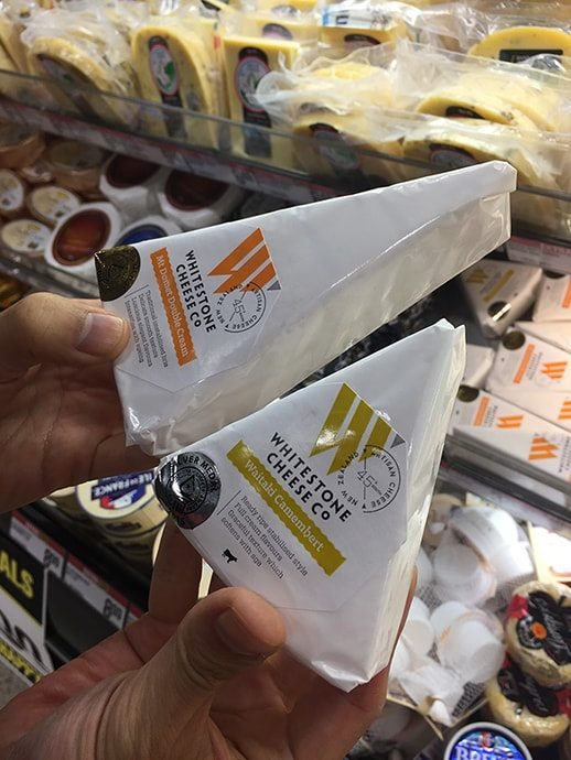 ニュージーランドのチーズ
