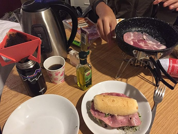 ニュージーランドの朝ご飯