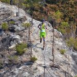 OSJ新城64キロでの岩場もガッチリと路面を捉えてくれました。