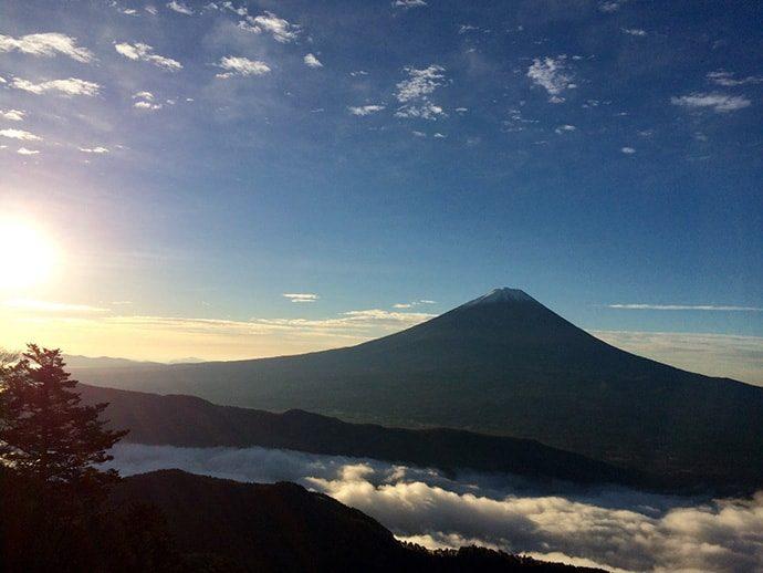 山梨の魅力 山へのアクセスのよさ、山での出会い
