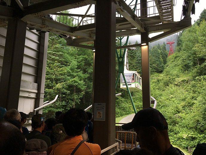 木曽駒ヶ岳 中央アルプス ロープウェイ